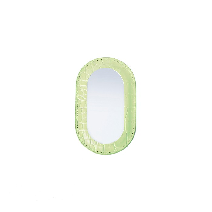 BEBE MIRRORCroco Green