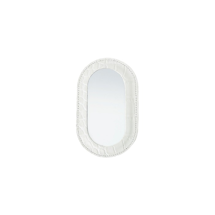 BEBE MIRRORCroco White